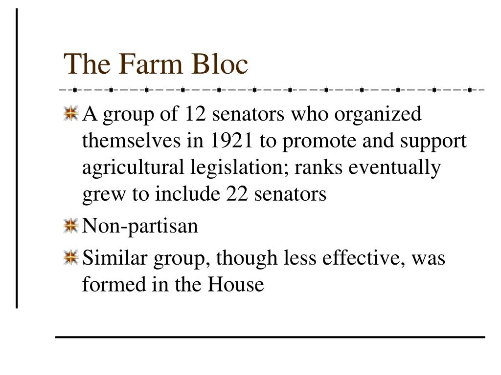 The Farm Bloc