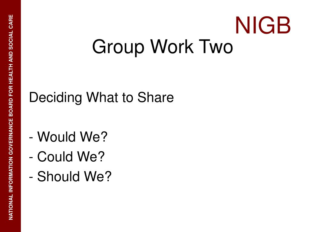 Deciding What to Share