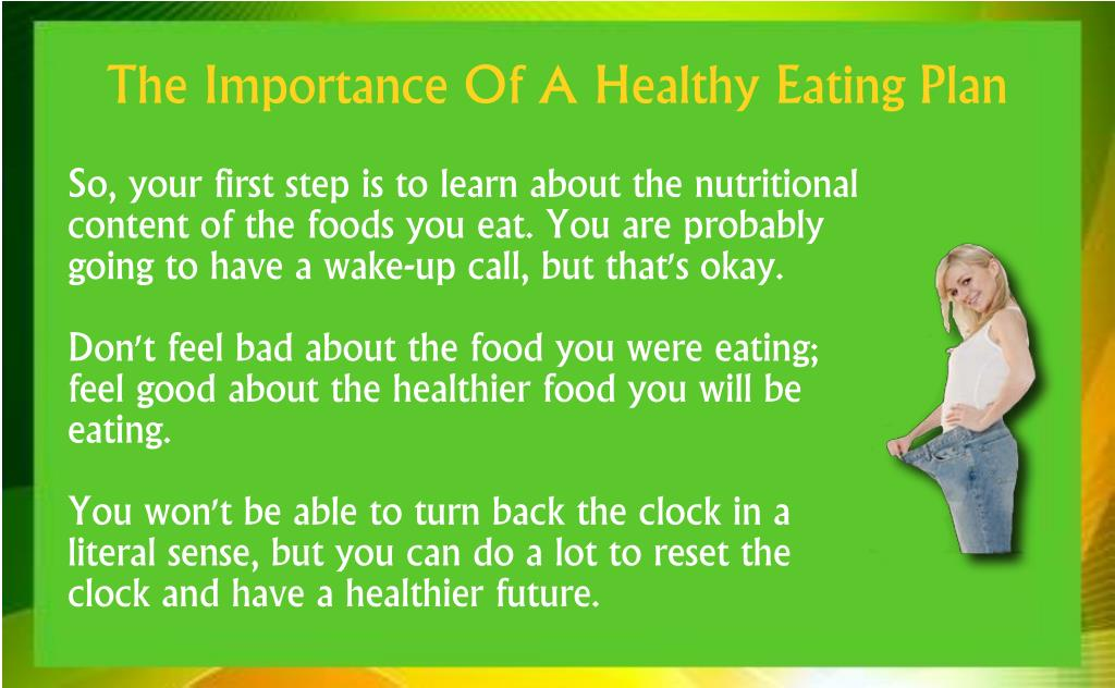 So, your first step is to learn about the nutritional content of the foods you eat. You are probably going to have a wake-up call, but that's okay.