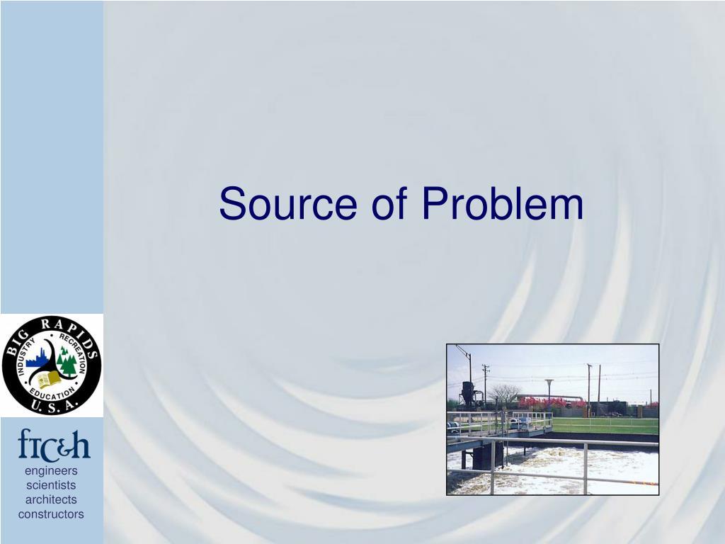 Source of Problem