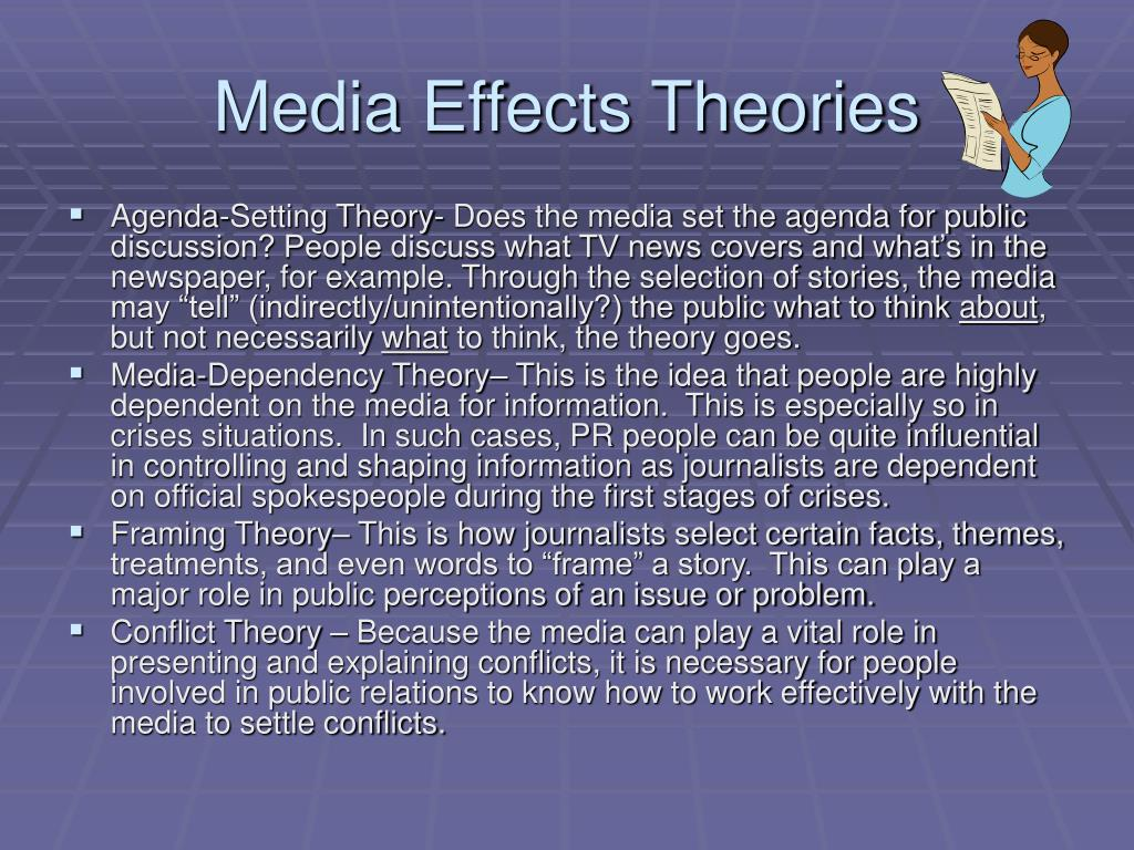 Media Effects Theories