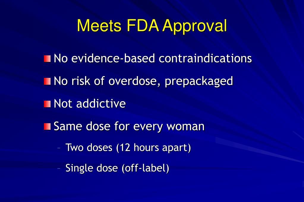 Meets FDA Approval