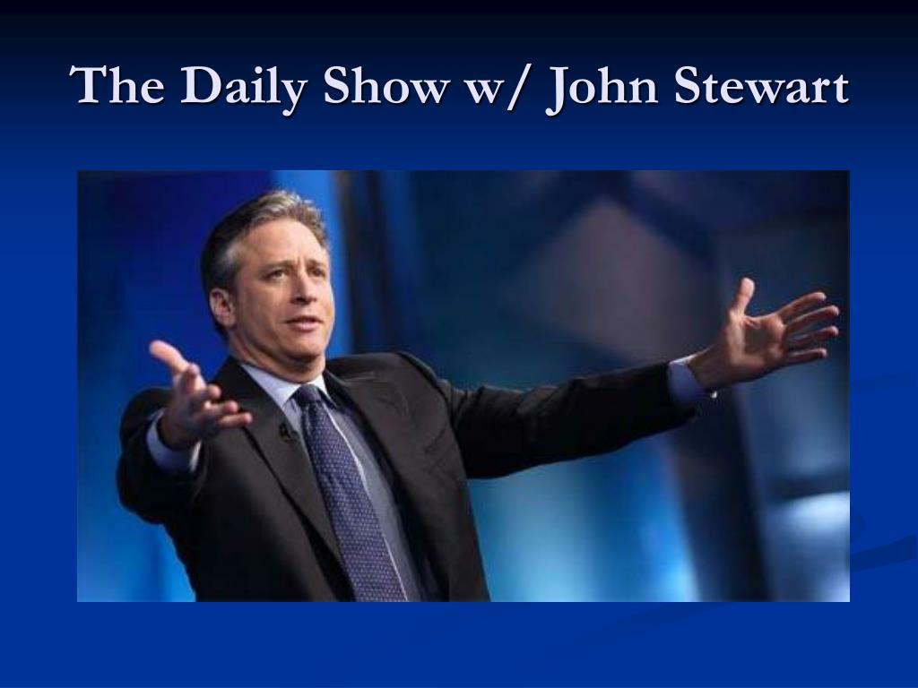 The Daily Show w/ John Stewart