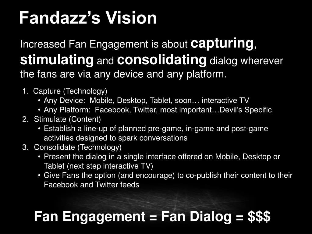 Fandazz's Vision