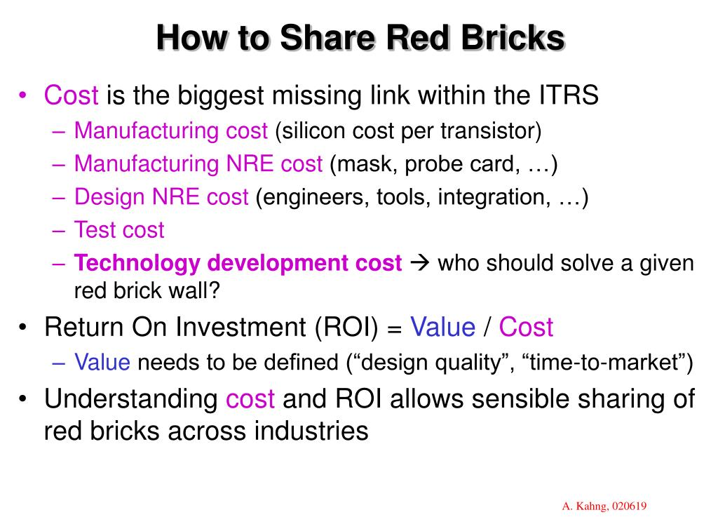 How to Share Red Bricks
