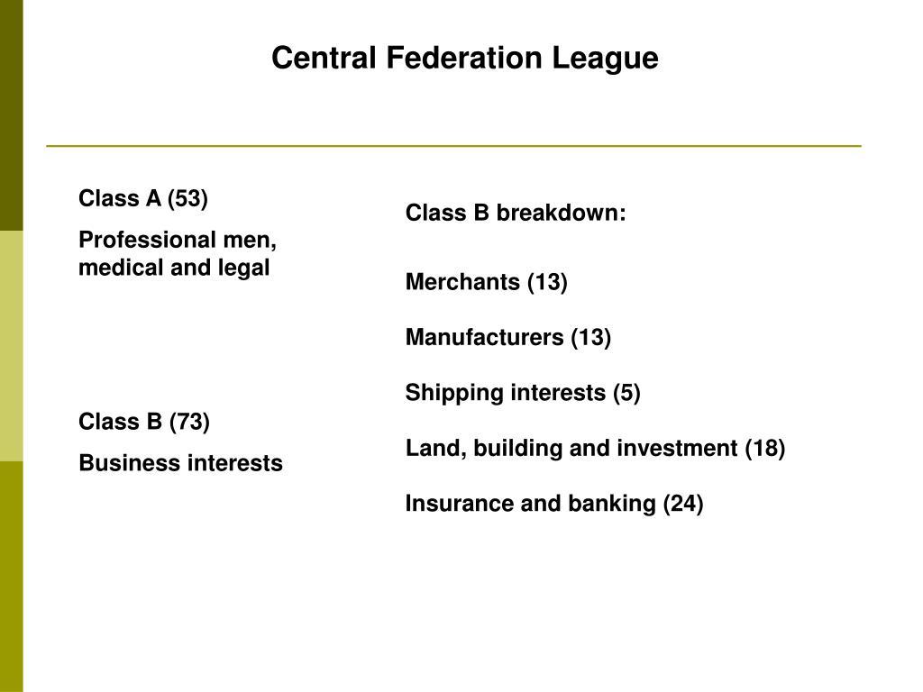 Central Federation League
