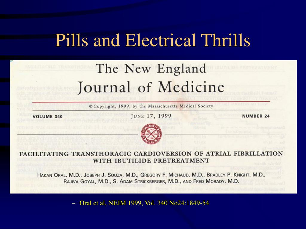 Oral et al, NEJM 1999, Vol. 340 No24:1849-54