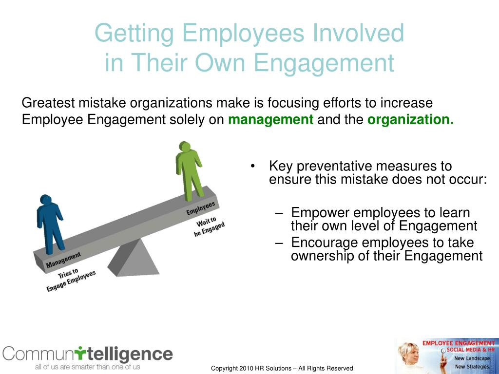 Getting Employees Involved