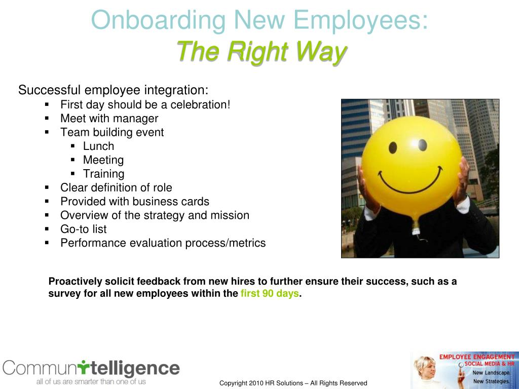 Onboarding New Employees: