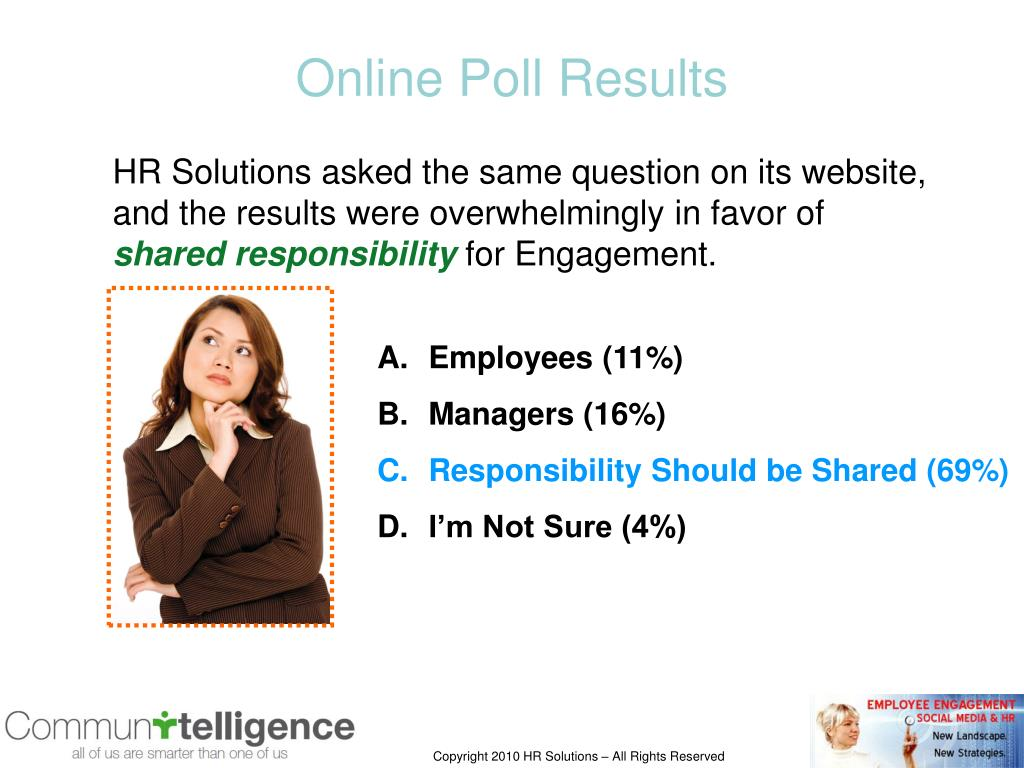 Online Poll Results