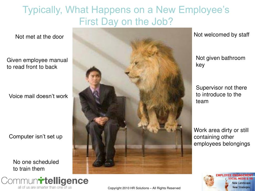 Typically, What Happens on a New Employee's