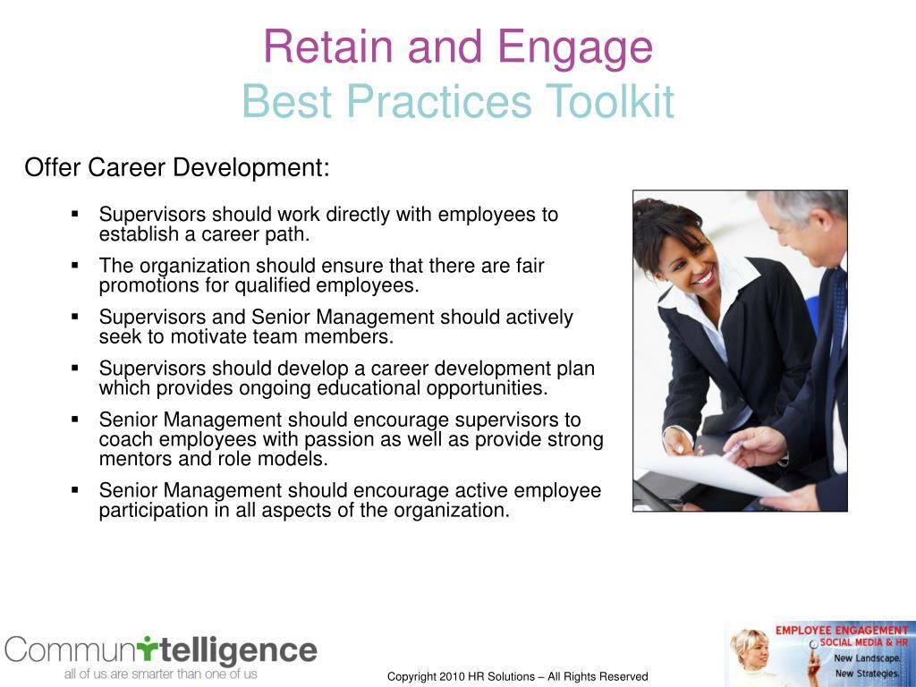 Offer Career Development:
