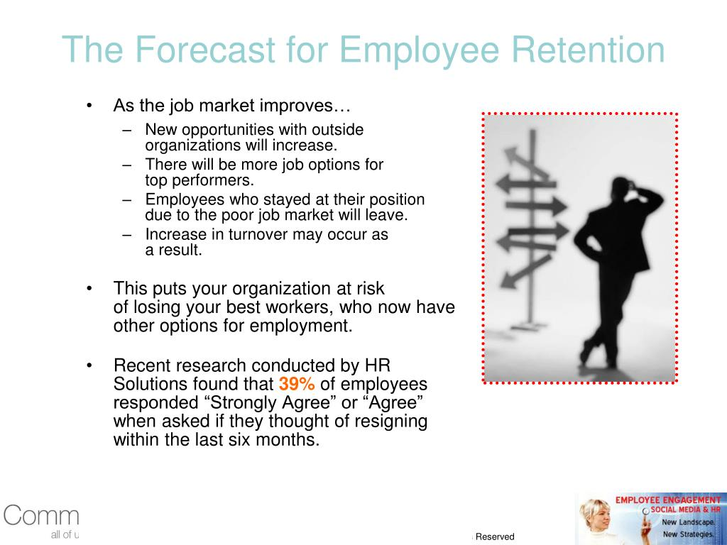 The Forecast for Employee Retention