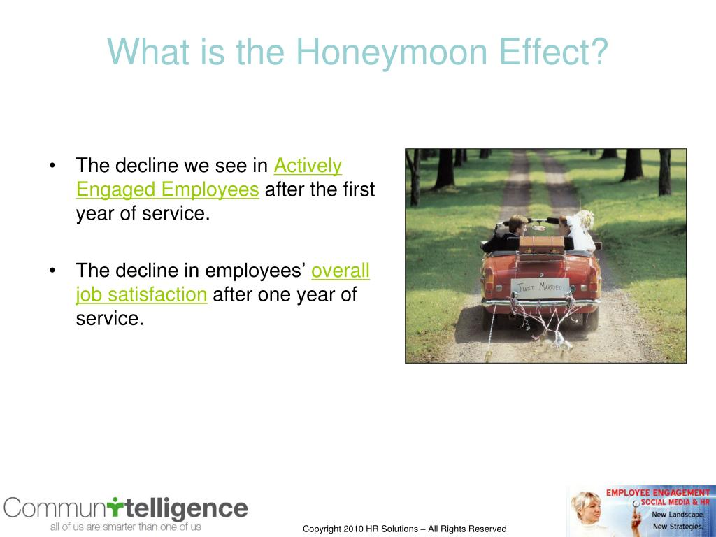 What is the Honeymoon Effect?