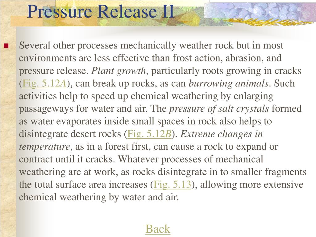 Pressure Release II