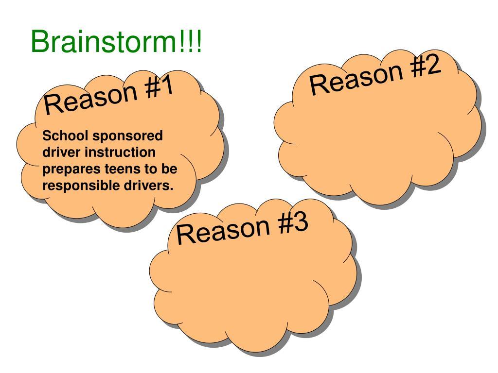 Brainstorm!!!