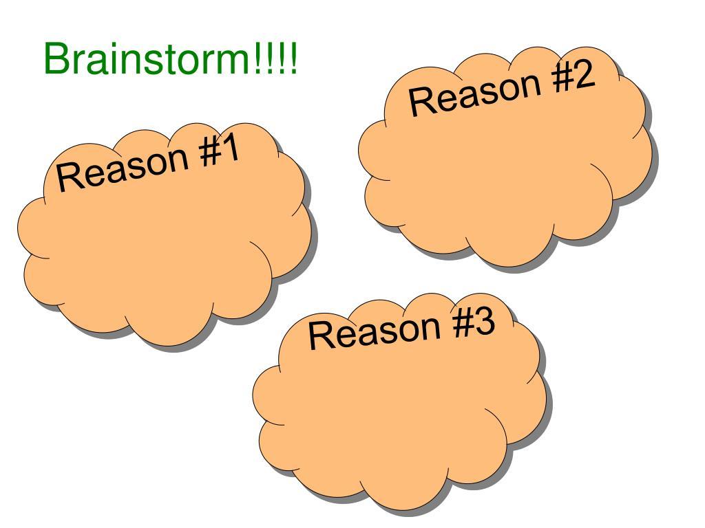 Brainstorm!!!!