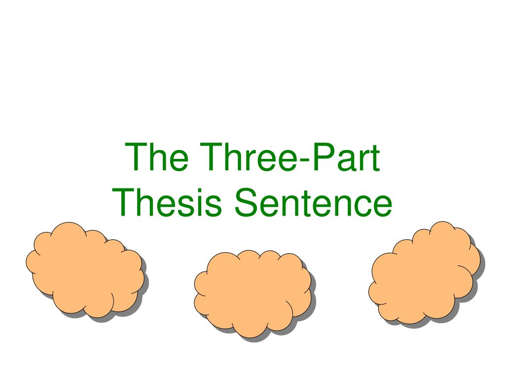 The Three-Part