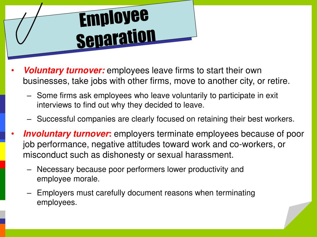 Employee Separation
