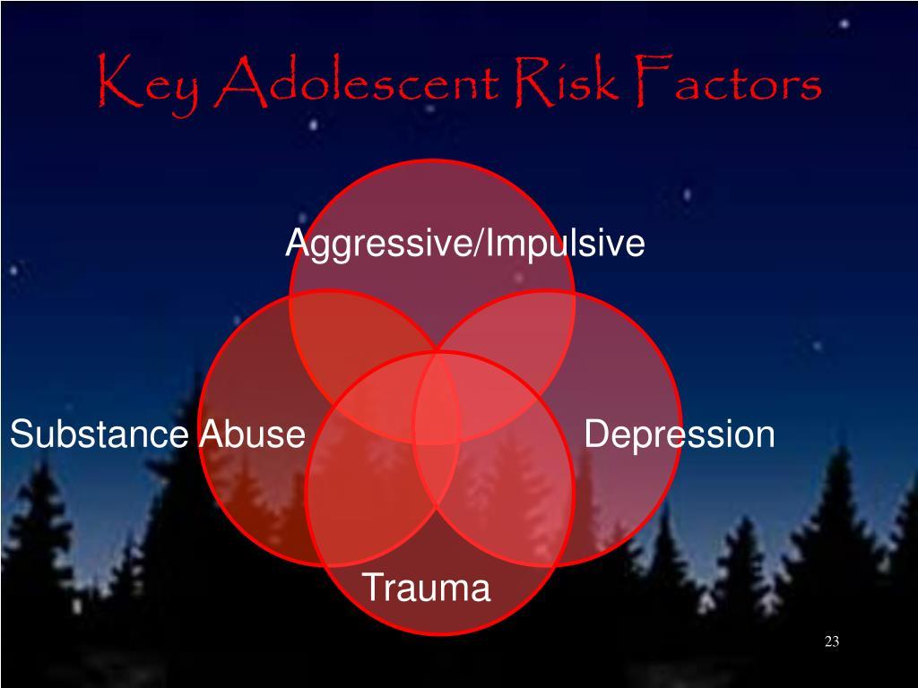 Key Adolescent Risk Factors