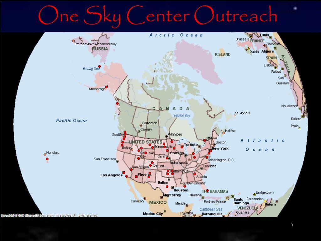 One Sky Center Outreach