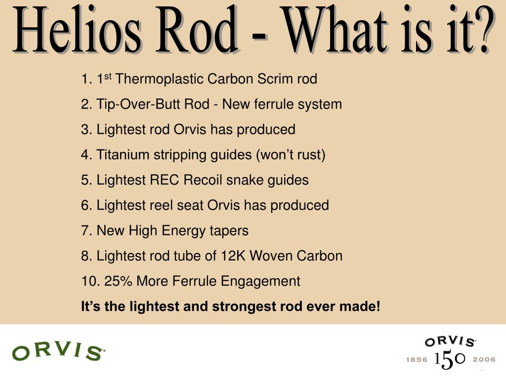 Helios Rod - What is it?