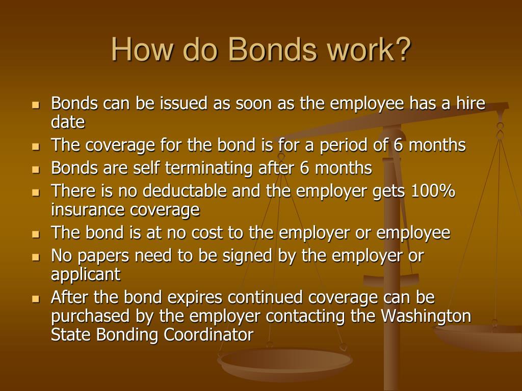 How do Bonds work?