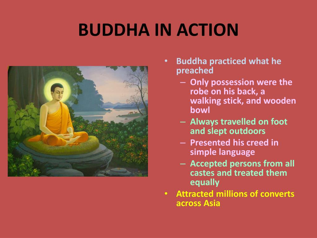 BUDDHA IN ACTION