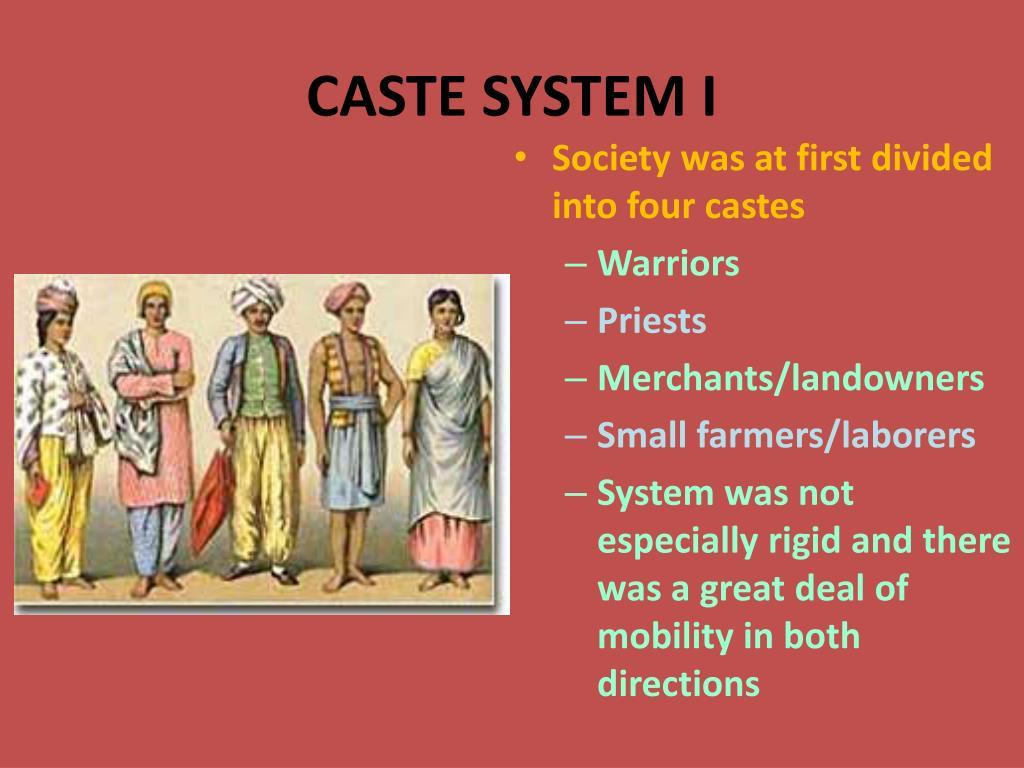 CASTE SYSTEM I