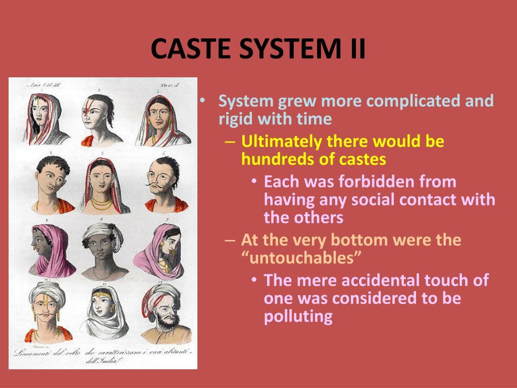 CASTE SYSTEM II