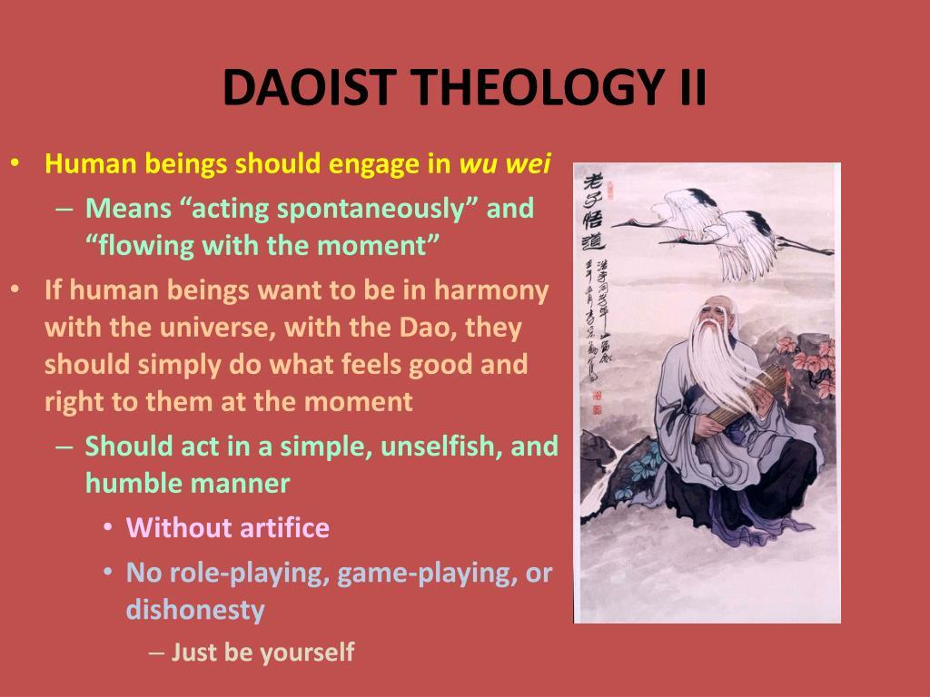 DAOIST THEOLOGY II