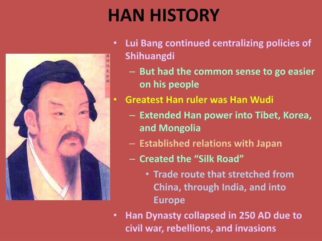 HAN HISTORY