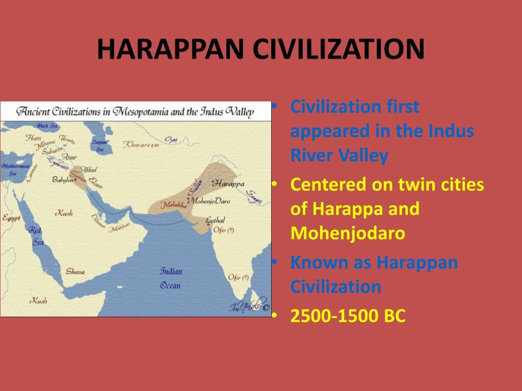 HARAPPAN CIVILIZATION