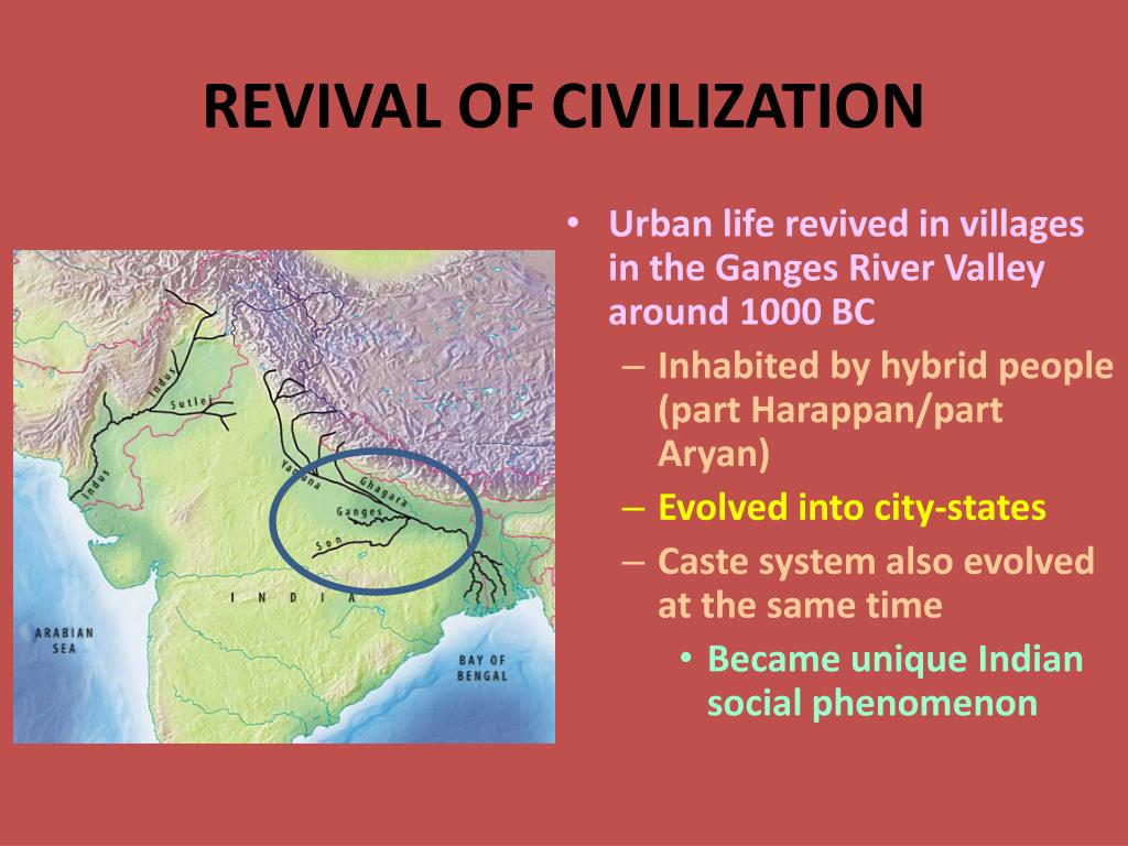 REVIVAL OF CIVILIZATION