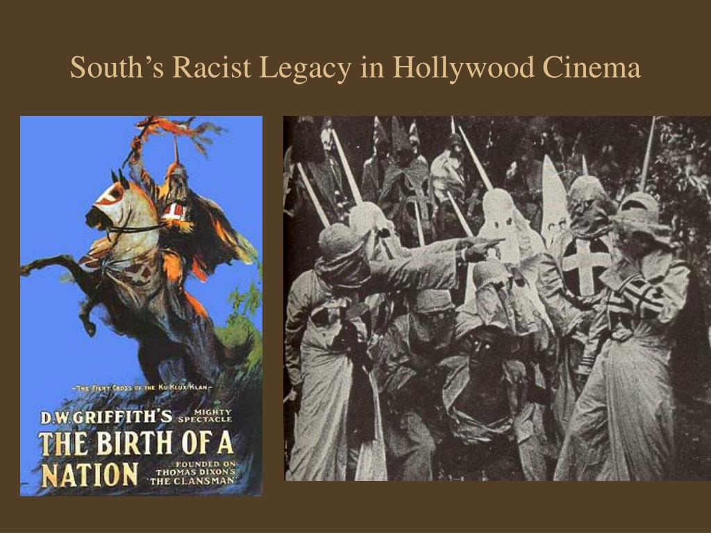 South's Racist Legacy in Hollywood Cinema