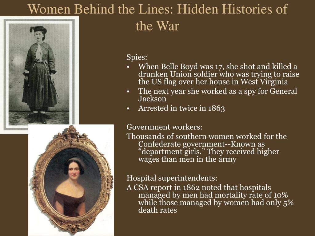 Women Behind the Lines: Hidden Histories of the War