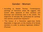 gender women
