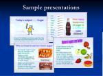 sample presentations19