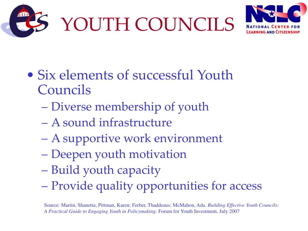 YOUTH COUNCILS