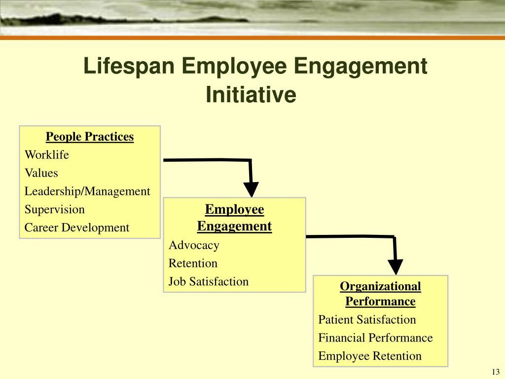 Lifespan Employee Engagement Initiative
