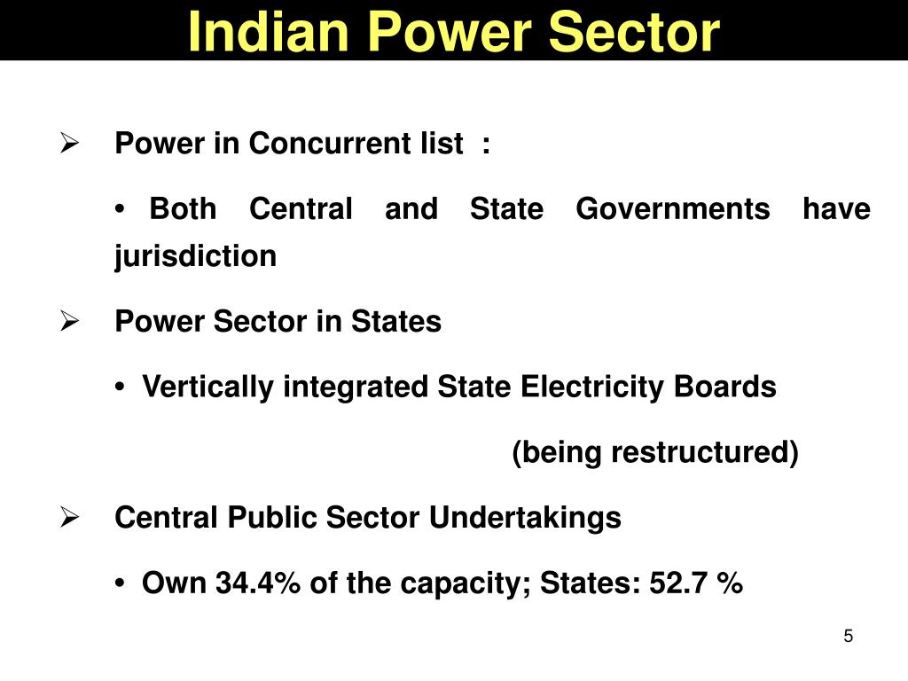 Indian Power Sector