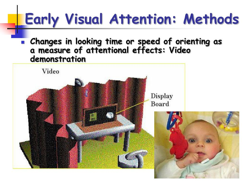 Early Visual Attention: Methods