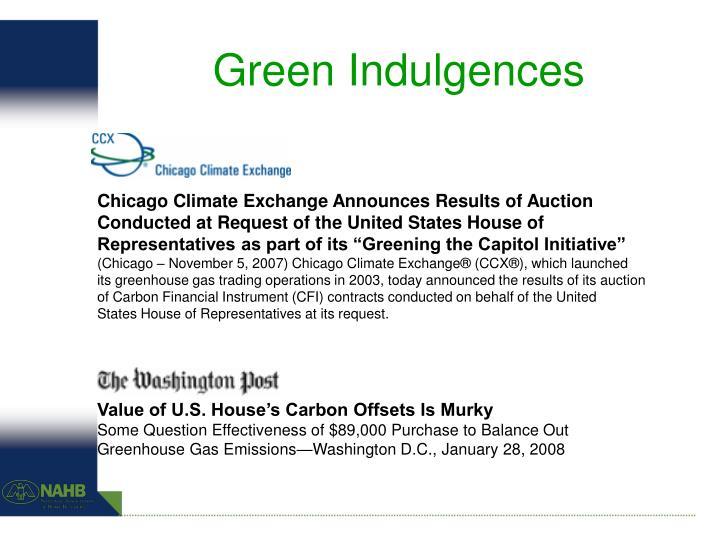 Green Indulgences