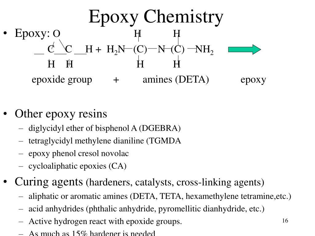 Epoxy Chemistry