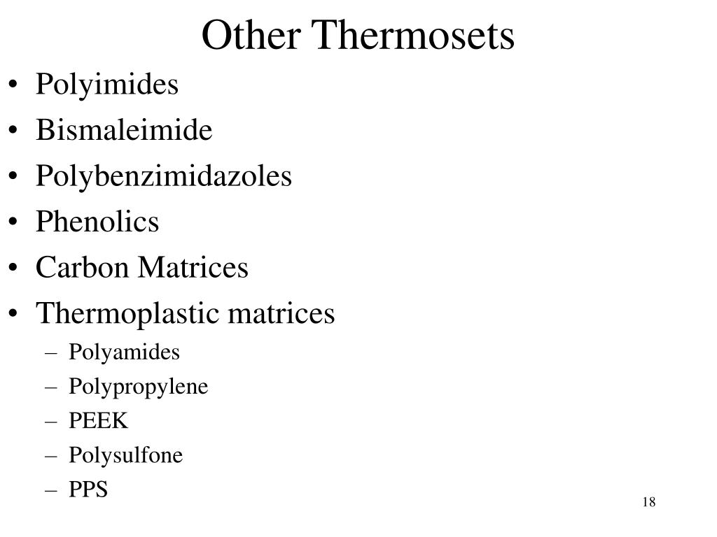 Other Thermosets