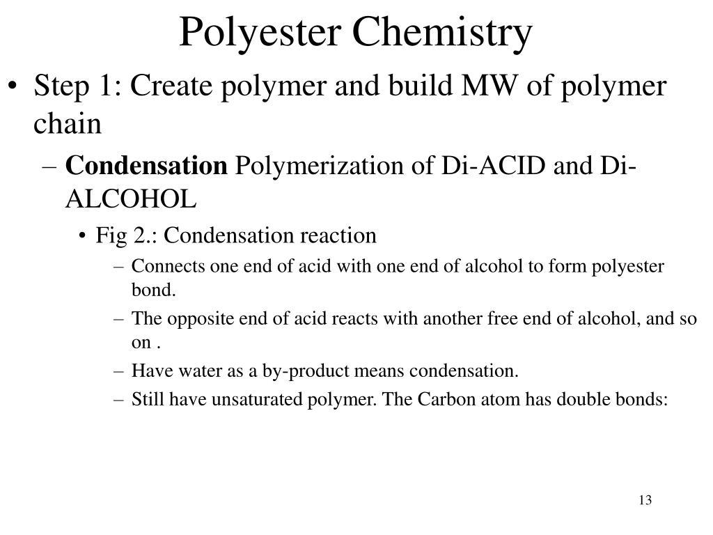 Polyester Chemistry