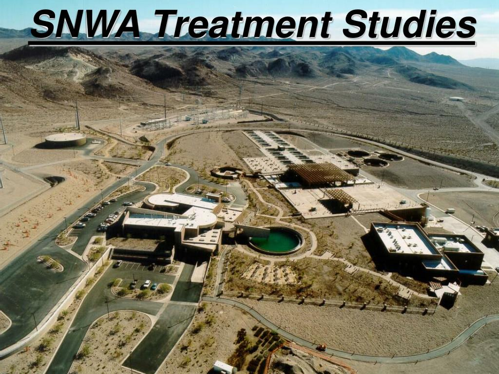 SNWA Treatment Studies