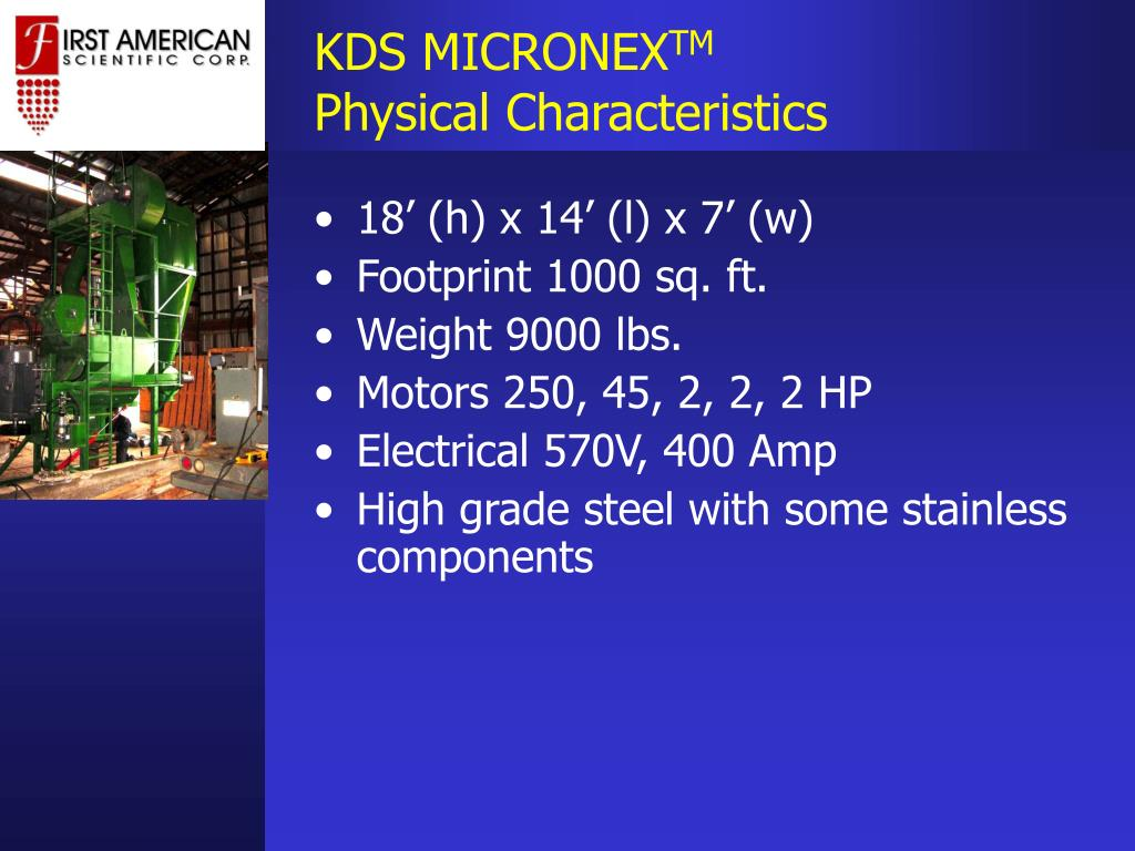 KDS MICRONEX