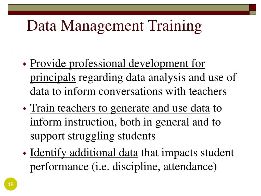 Data Management Training