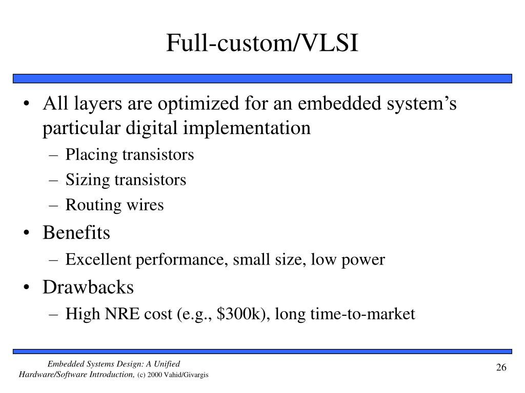 Full-custom/VLSI